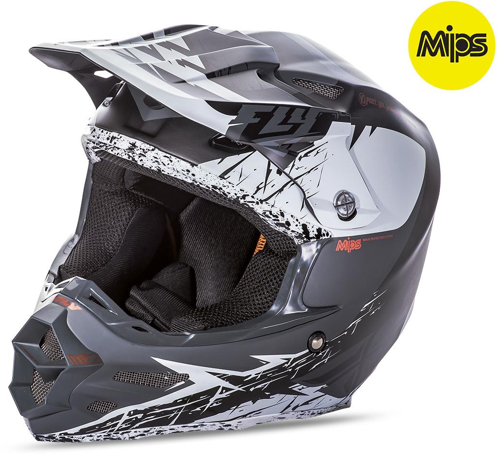 F2 Mips Retrospec Helmet Matte White/Black Xs