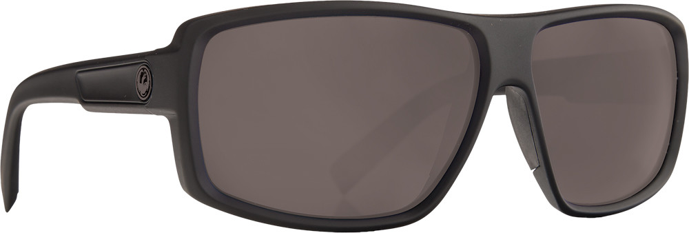 Double Dos Sunglasses Matte Black W/Ansi Grey Lens