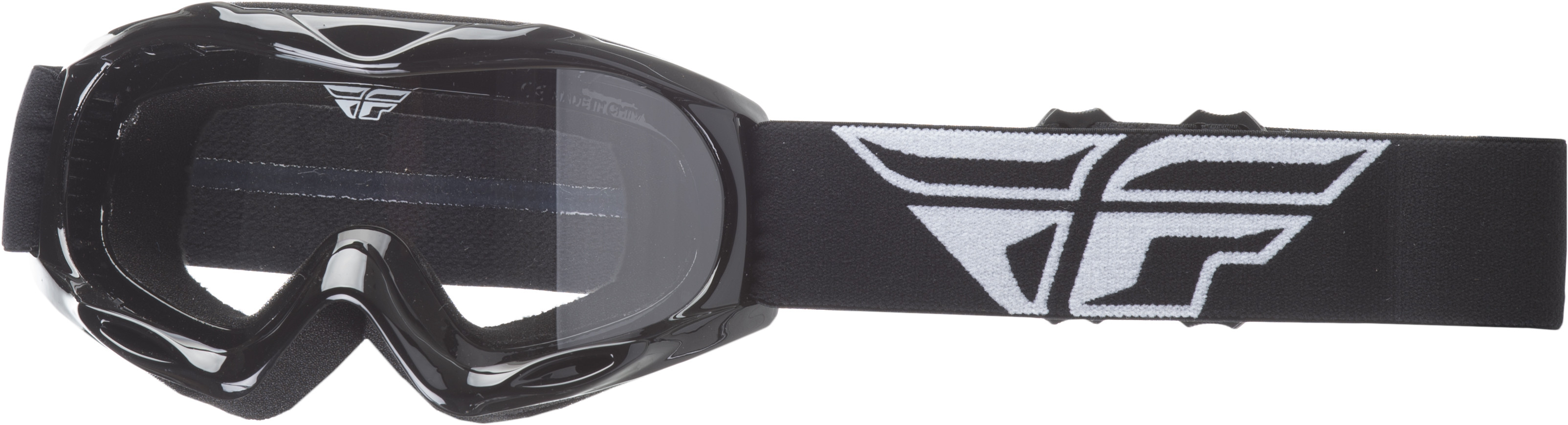 Focus Youth Goggle Black W/ Clear Lens