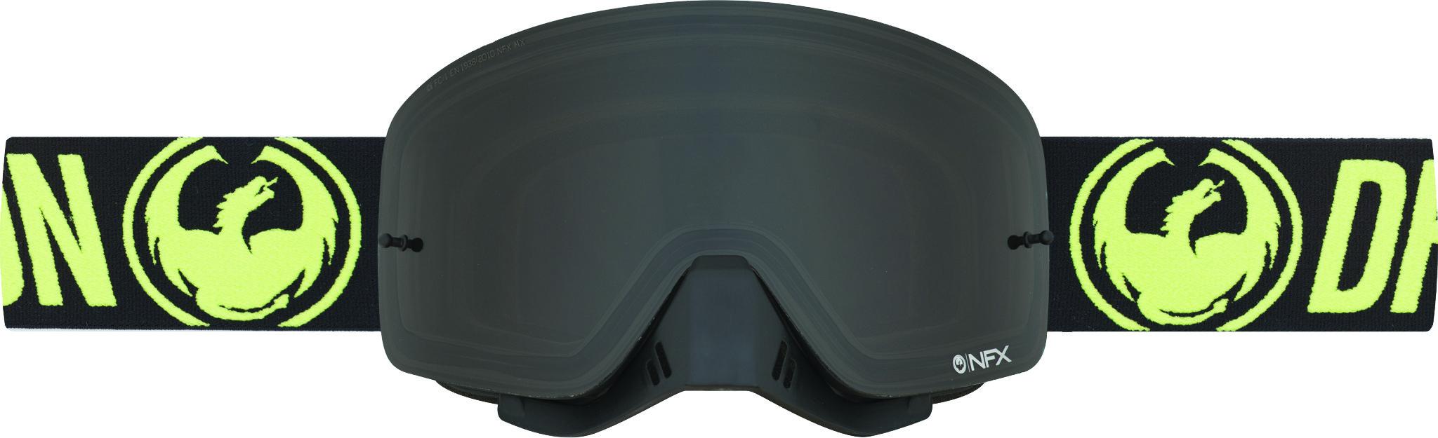 Nfx Goggle Hi-Vis W/Smoke Lens