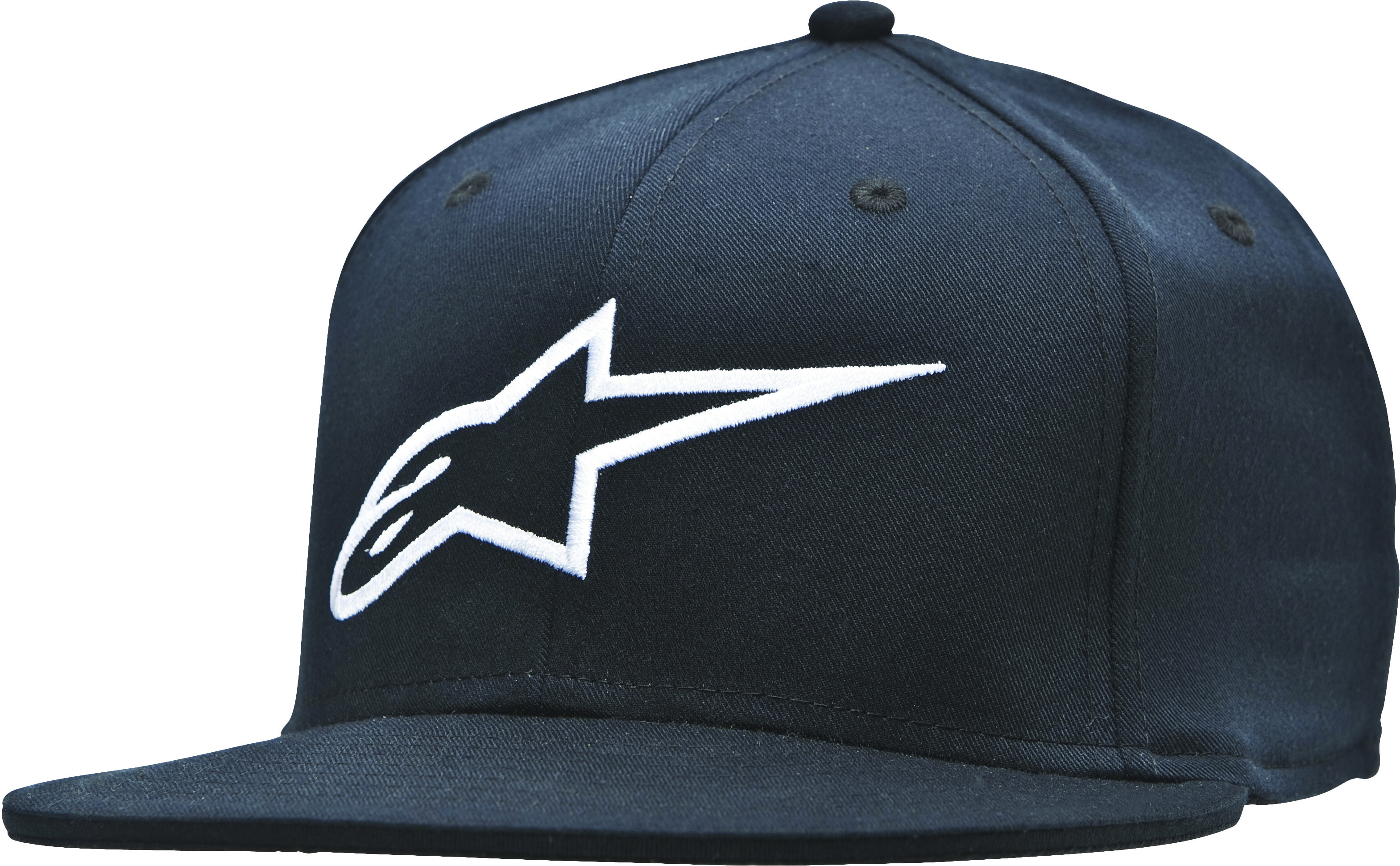 Ageless Flat Bill Hat Black/White L/X