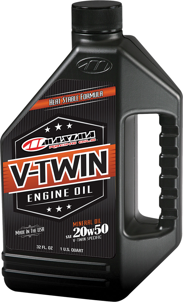 V-Twin Engine Oil 20W-50 32Oz