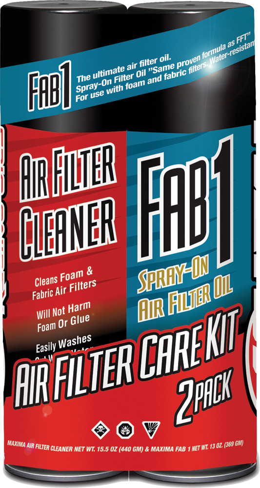 Air Filter Care Kit 2-Pk