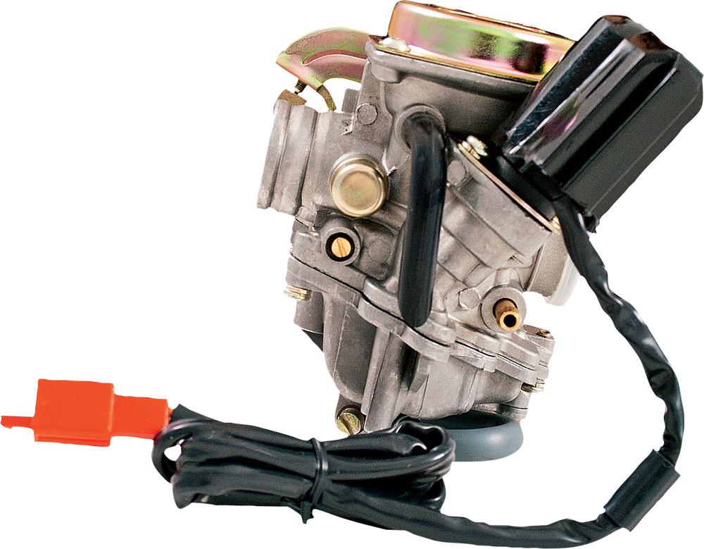 GY6 Stock 4-Stroke Carburetor 50cc W/Electric Choke