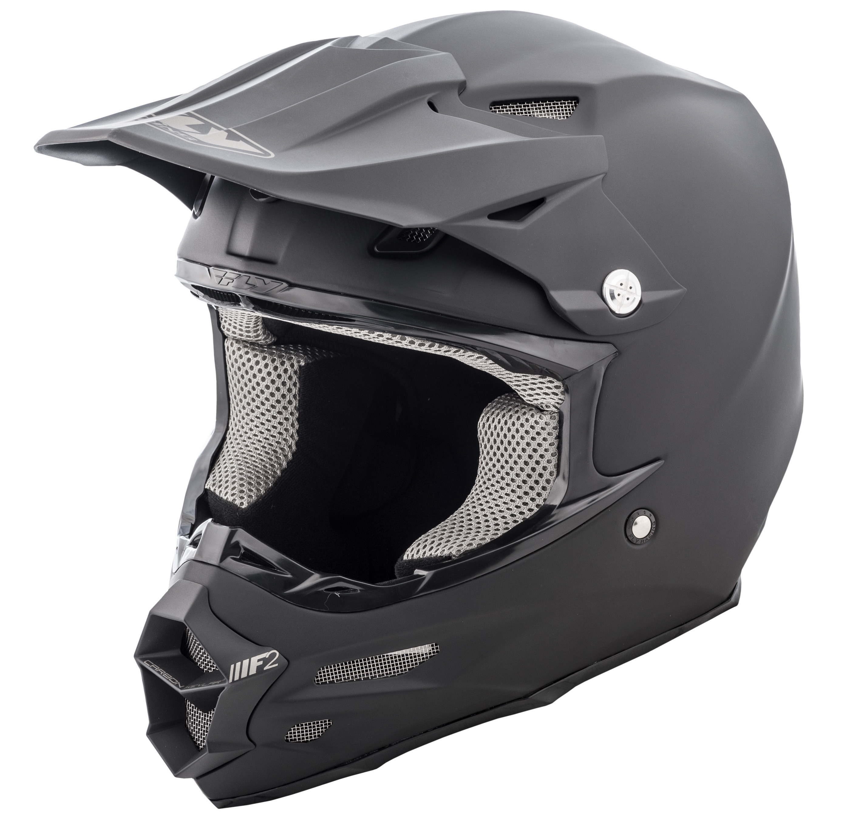 F2 Carbon Solid Helmet Matte Black 3X