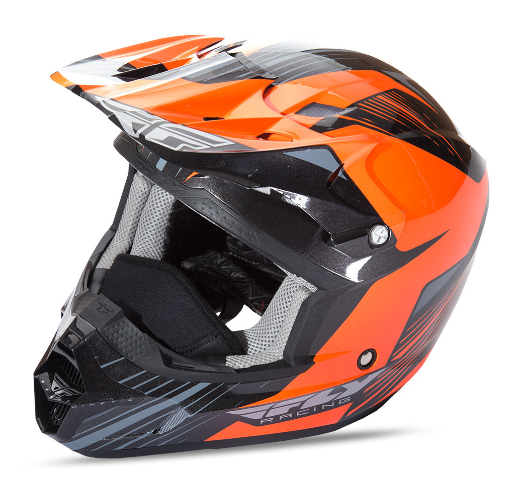 Kinetic Pro Cold Weather Helmet Orange/Black 2X