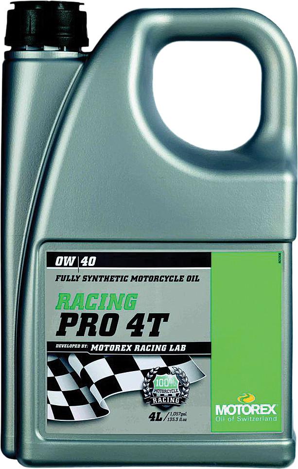 Racing Pro 4T 0W40 (4 Liters)