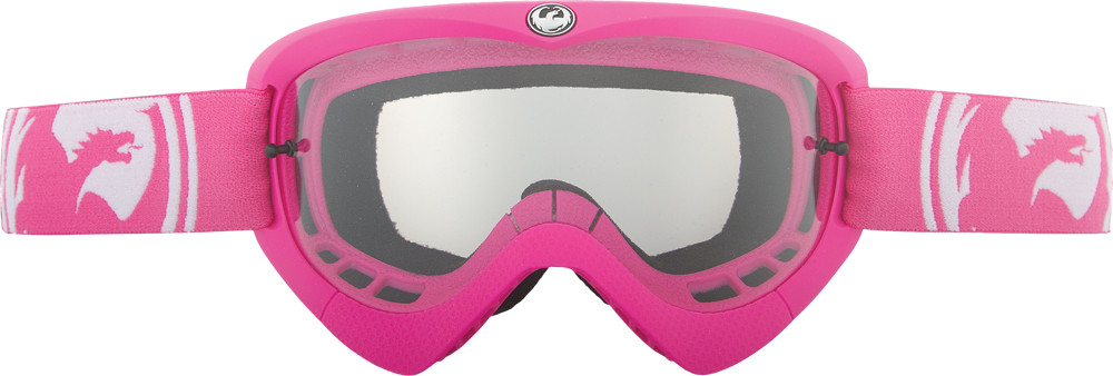 Mx Youth Goggle Pink/Black W/Clear Lens