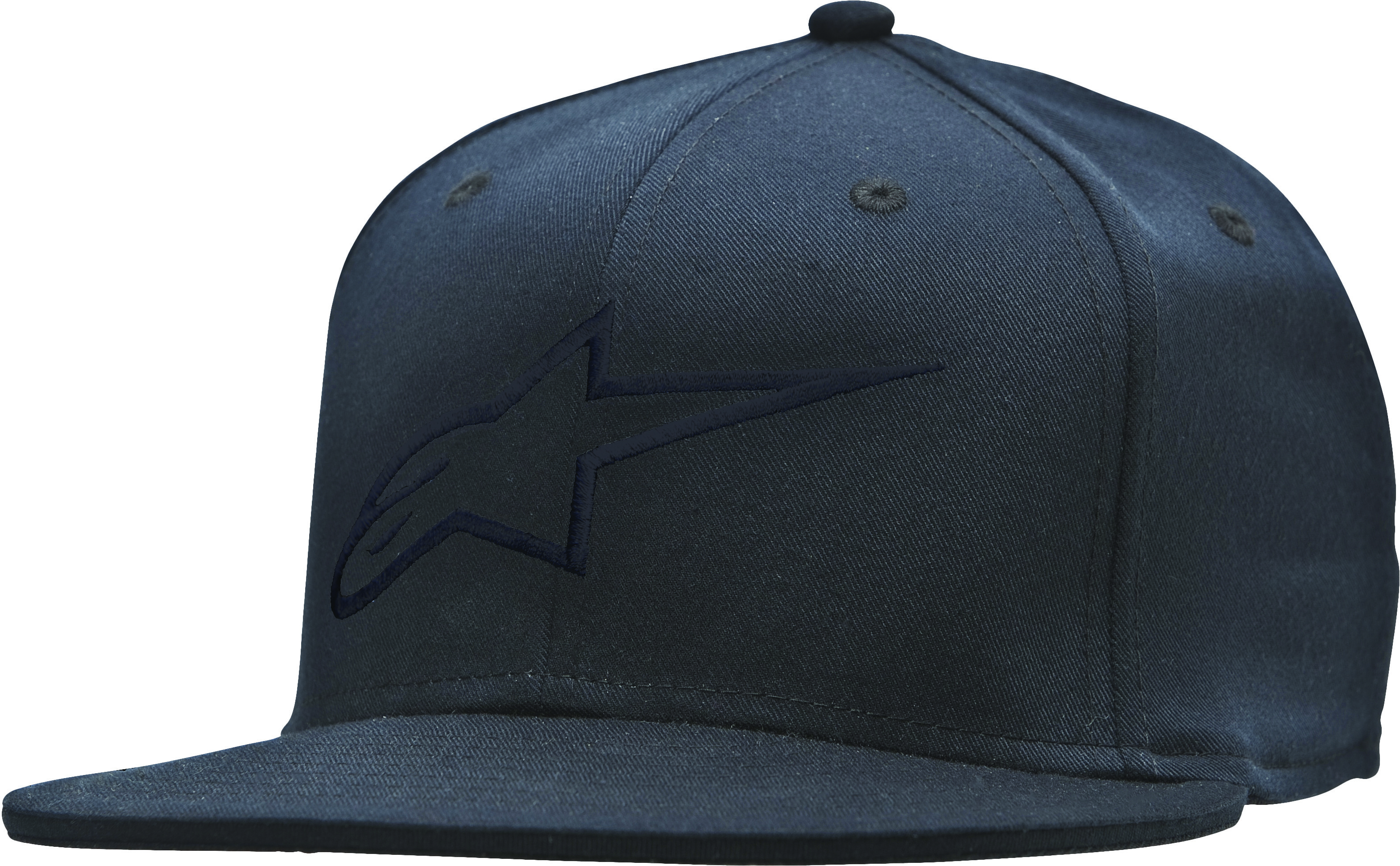Ageless Flat Bill Hat Black/Black L/X