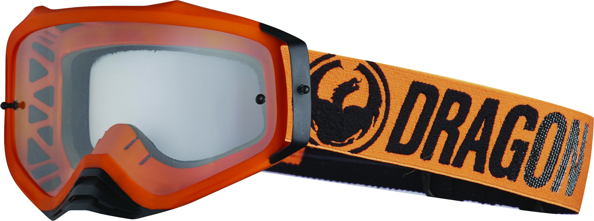 Mxv Plus Goggle Break Orange W/Clear Lens