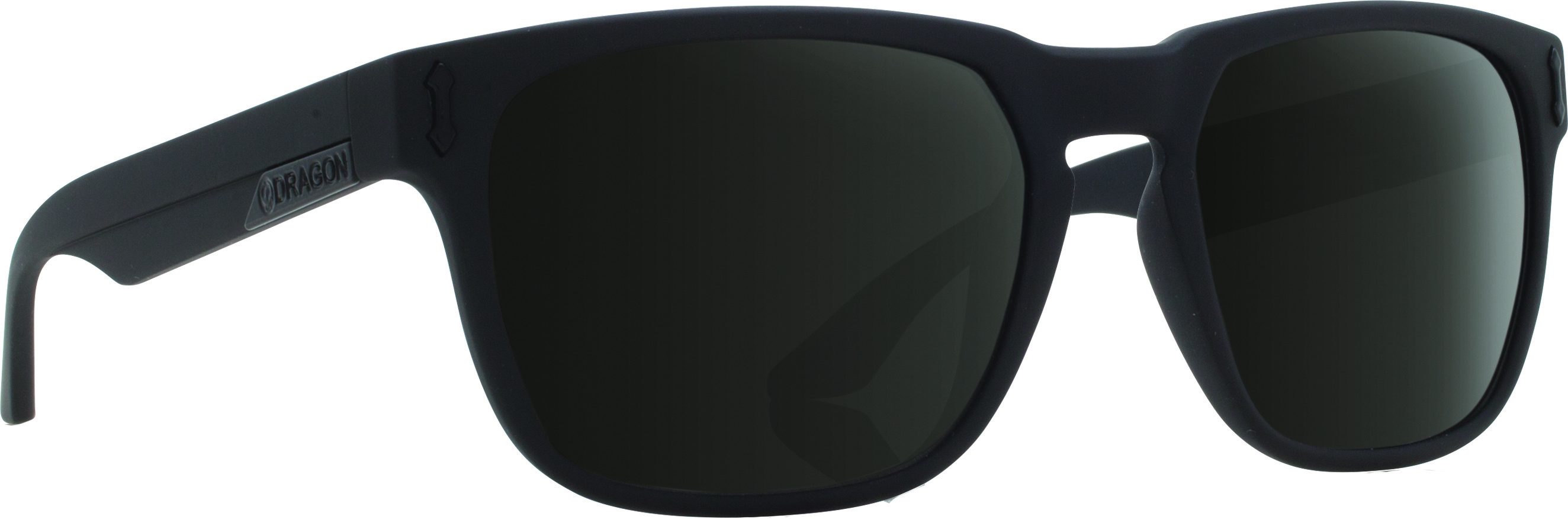 Monarch Sunglasses Matte Black W/Grey Lens