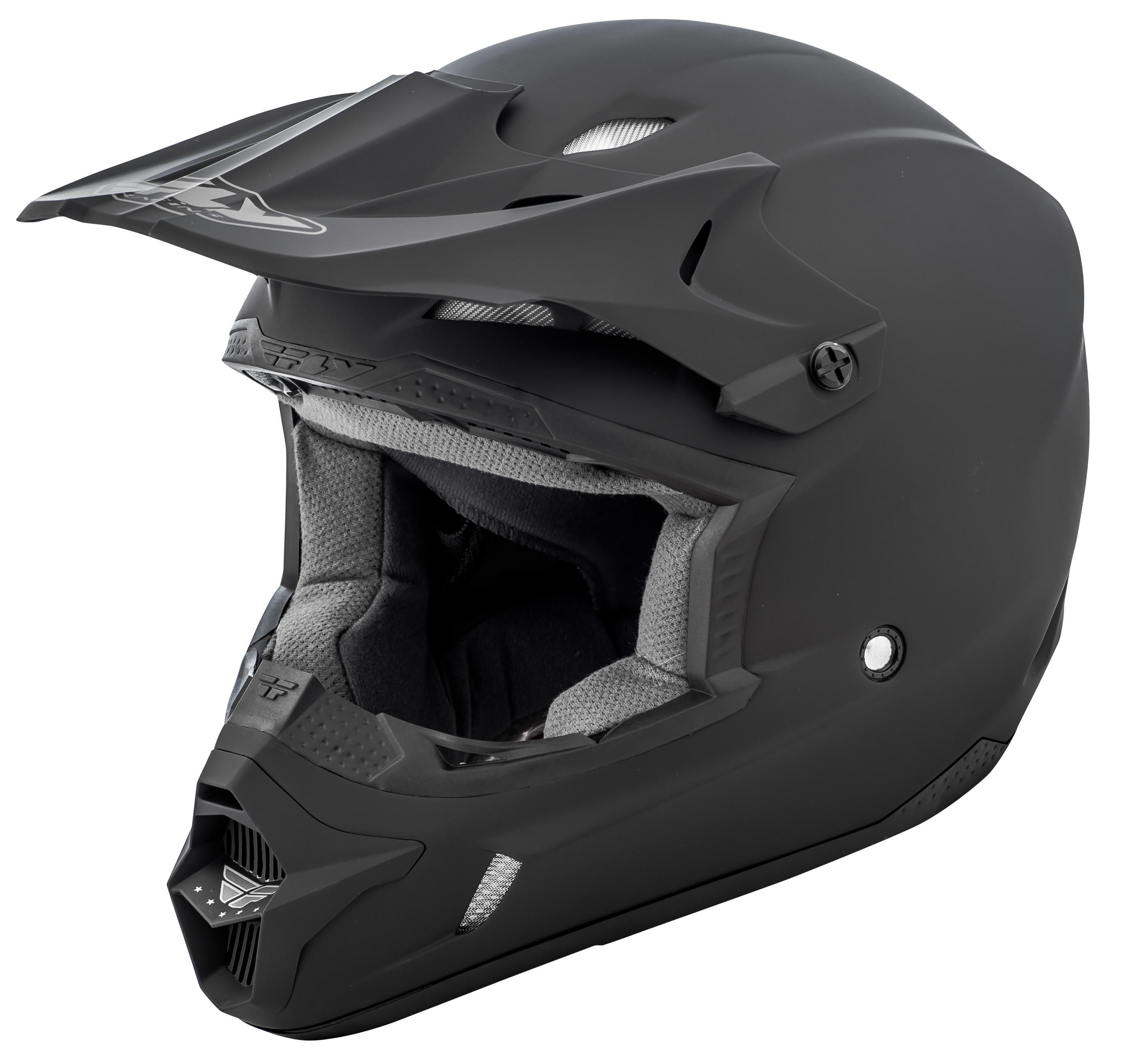 Kinetic Solid Helmet Matte Black 2X