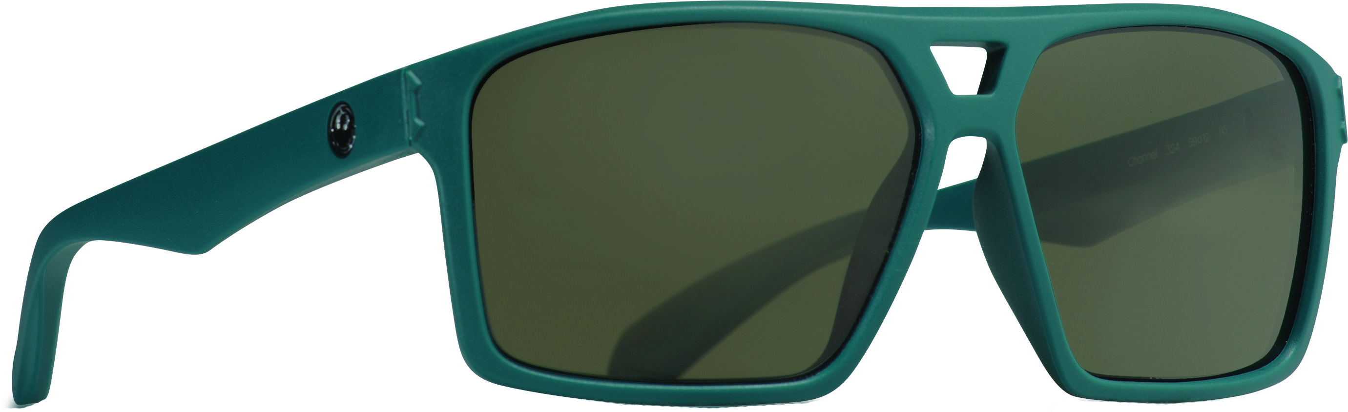 Channel Sunglasses Matte Deep Sea W/G15 Green Lens