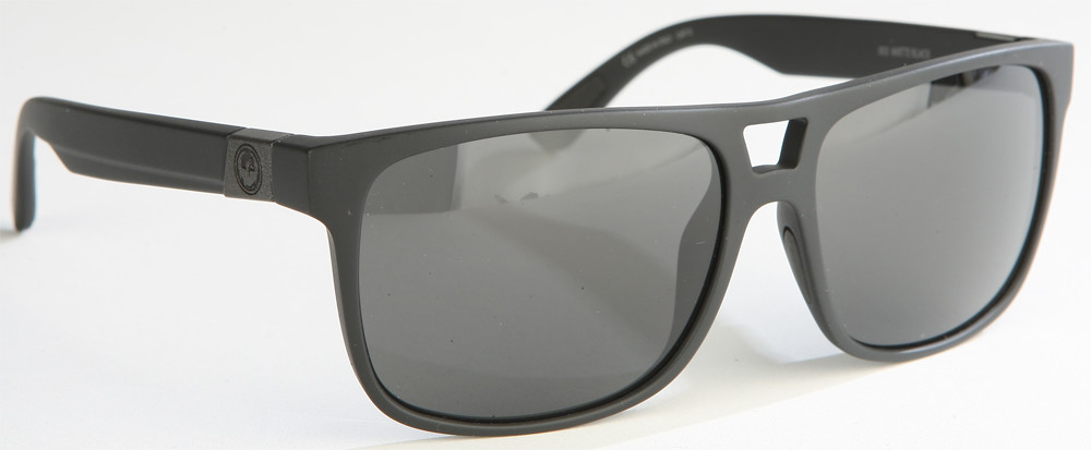 Roadblock Sunglasses Matte Black W/Grey Lens