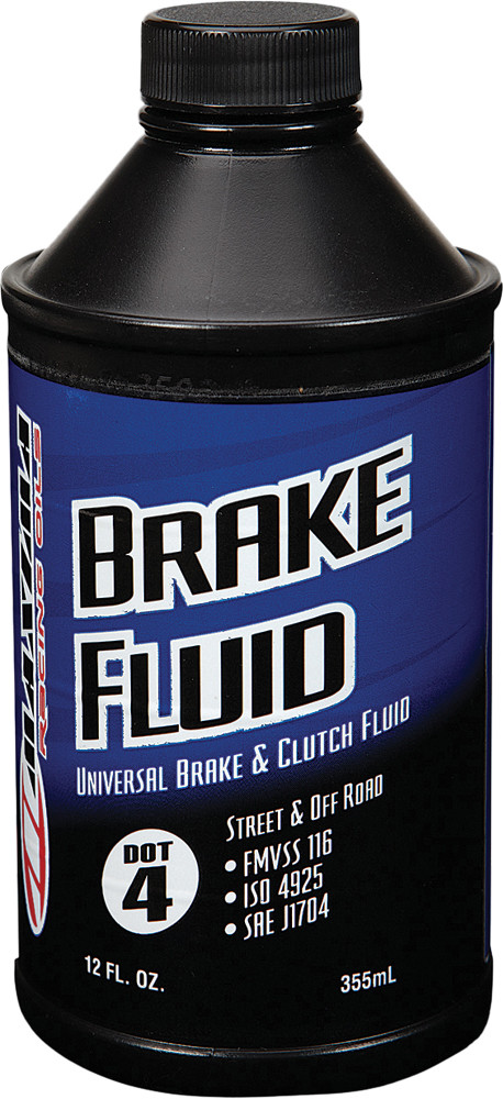 Brake Fluid Dot 4 12 Oz