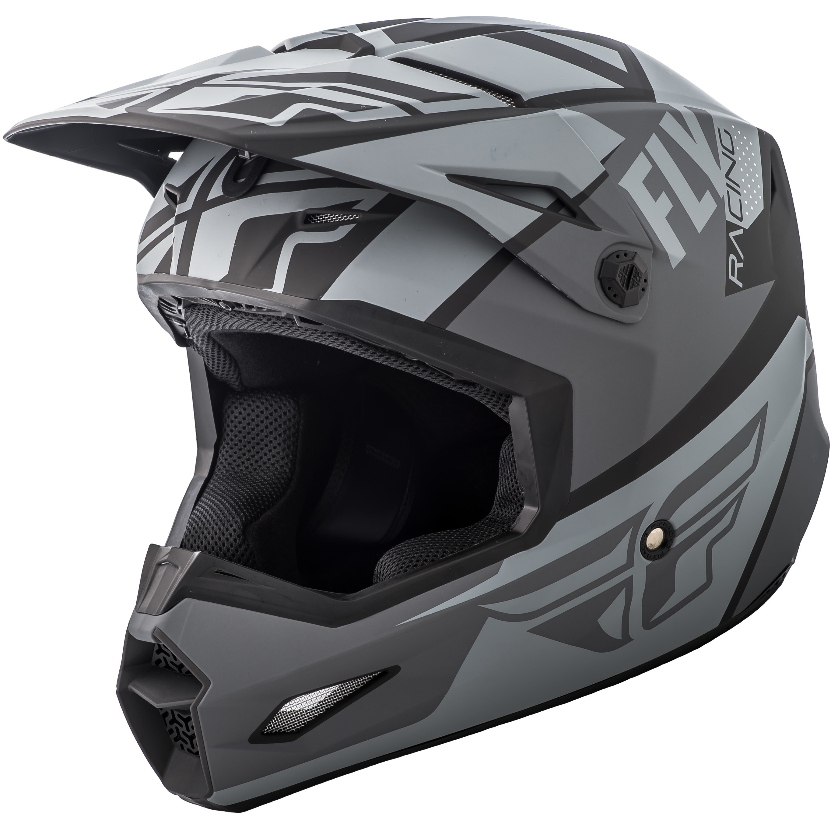 Elite Guild Helmet Matte Grey/Charcoal/Black Ys