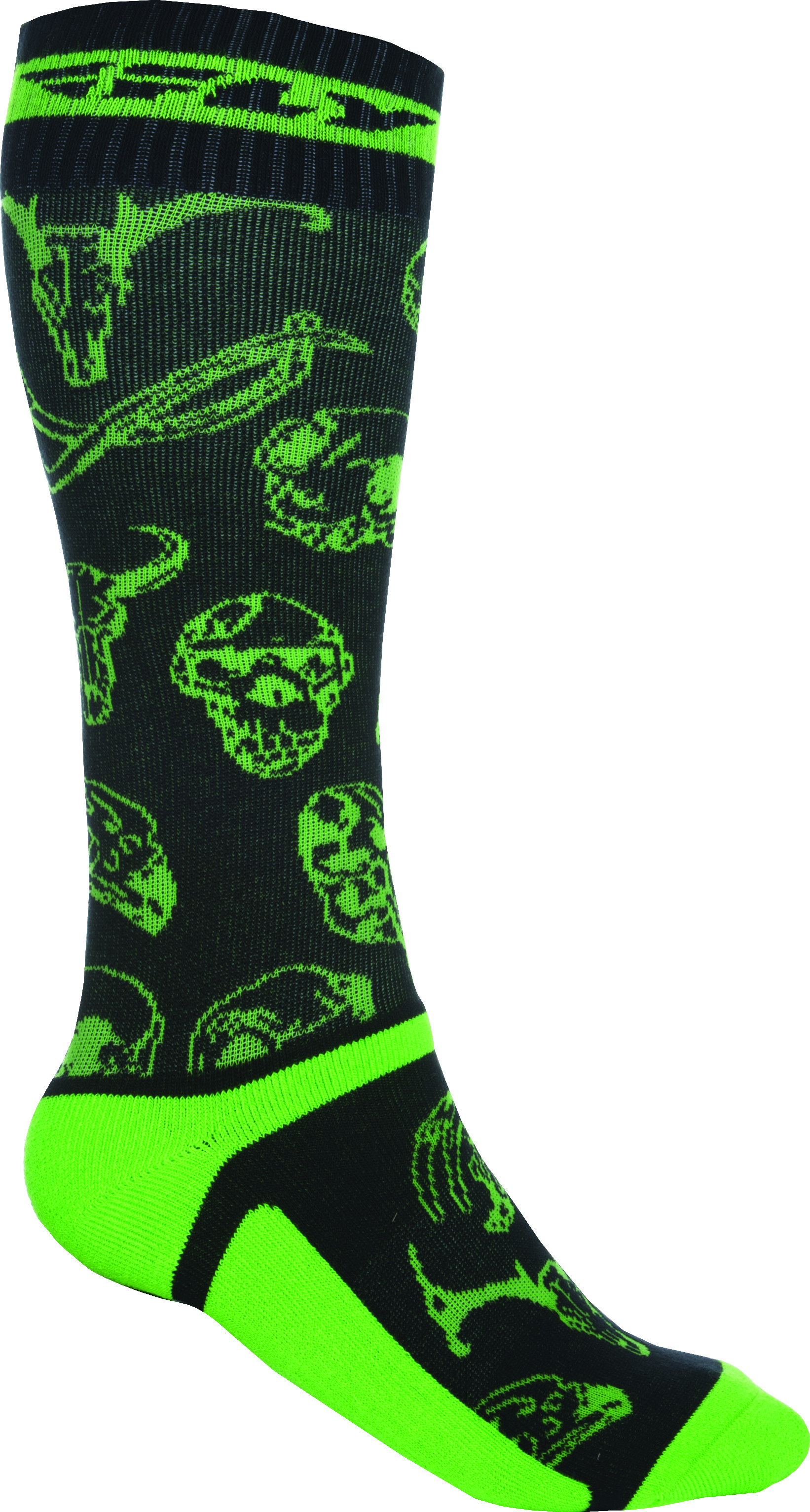 Mx Pro Sock Thin Green/Black L/X