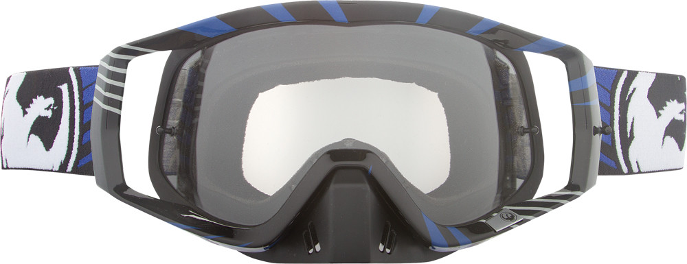 Vendetta Goggle Vox Blue W/Clear Aft Lens