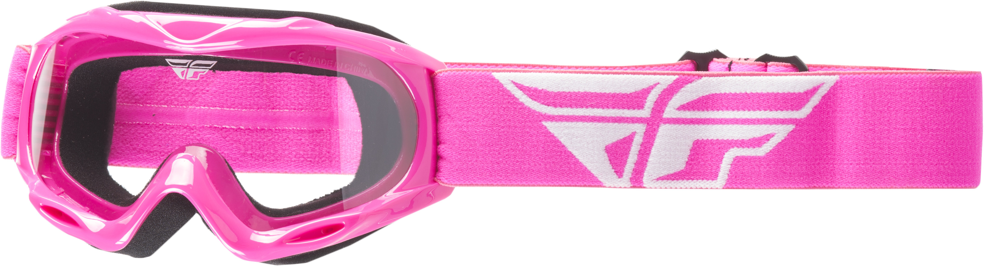 Focus Youth Goggle Pink W/ Clear Lens