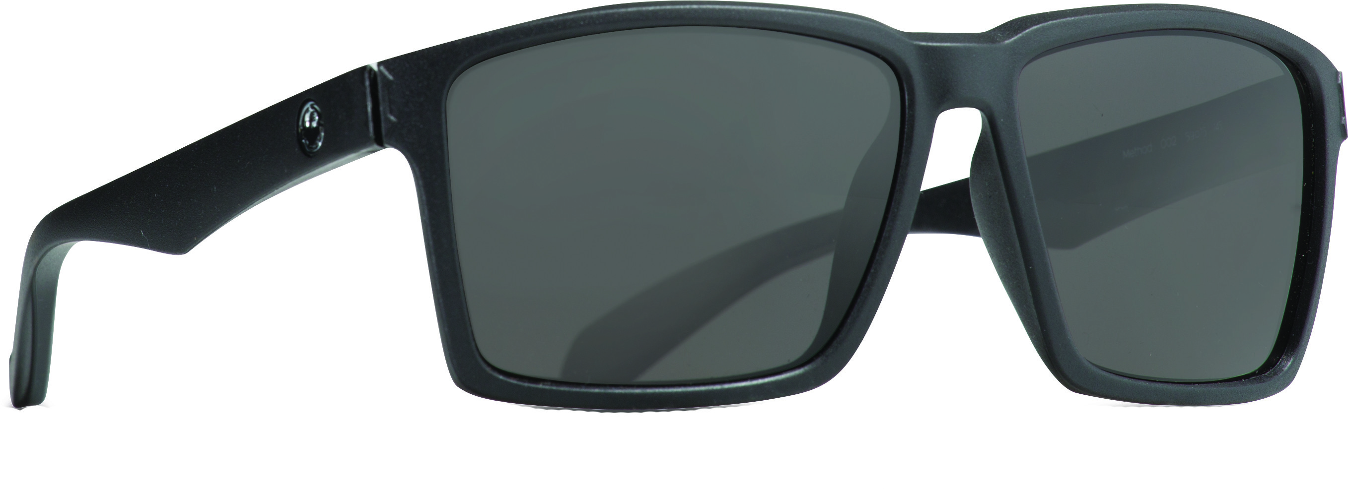 Method Sunglasses Matte Black W/Smoke Lens