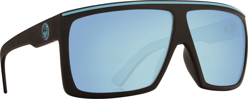 Fame Sunglasses Matte Blue W/Sky Blue Ion Lens