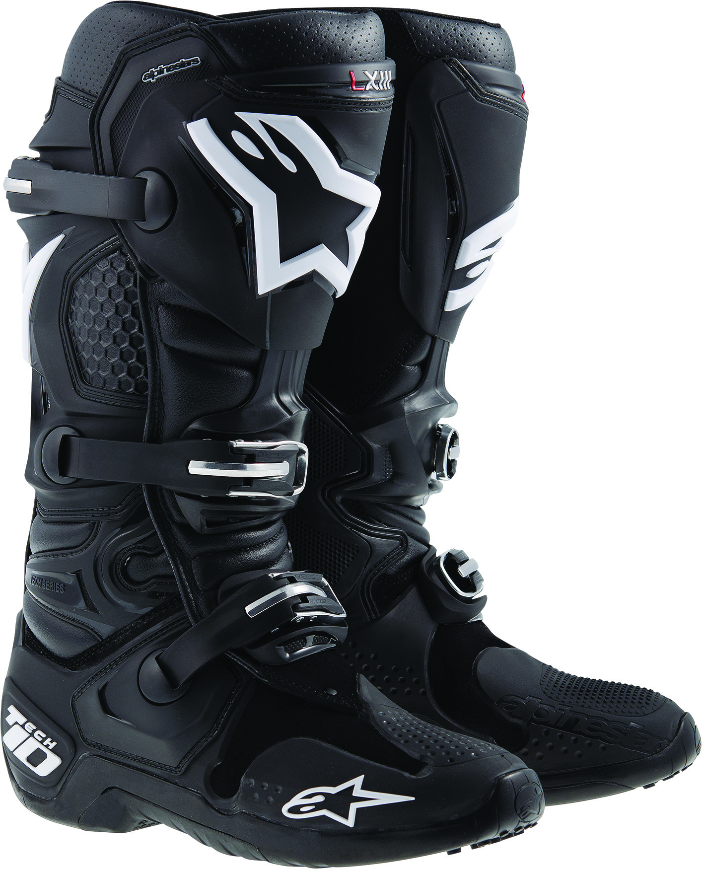 Tech 10 Boots Black Sz 10