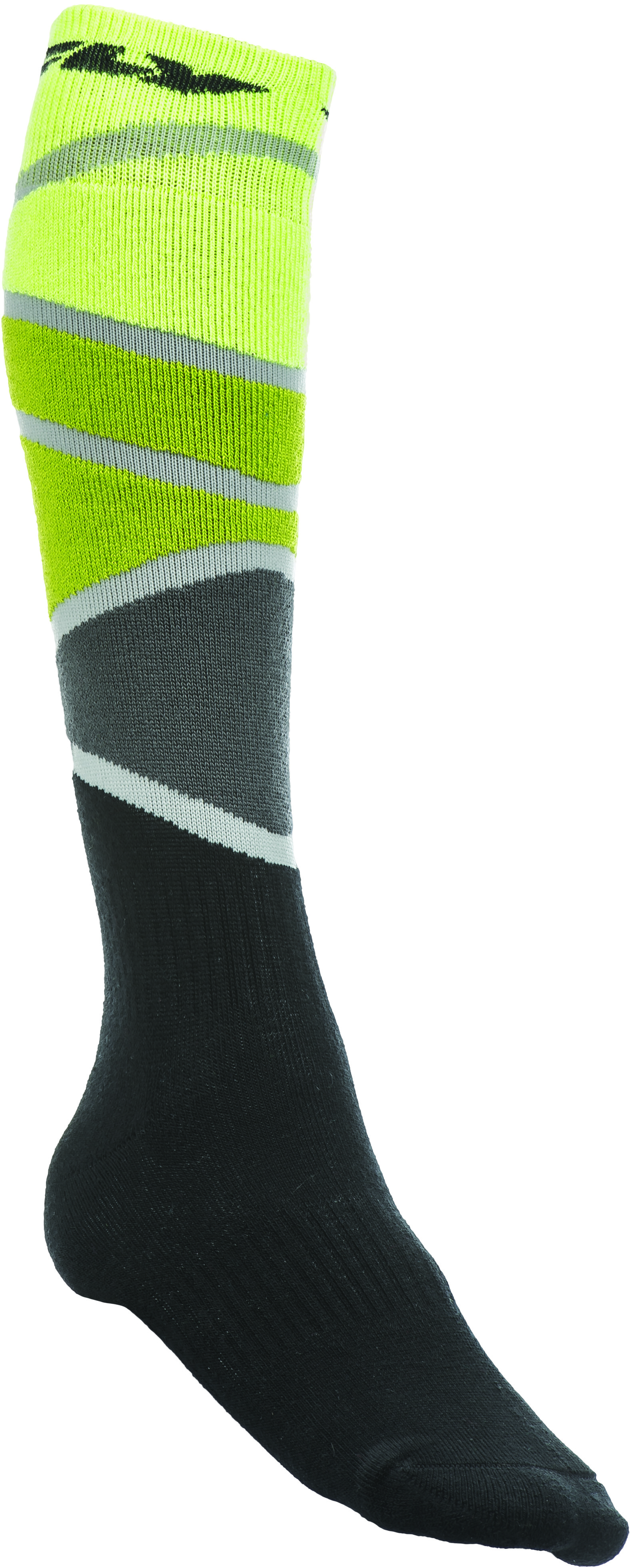 Mx Sock Thick Lime/Green/Black L/X