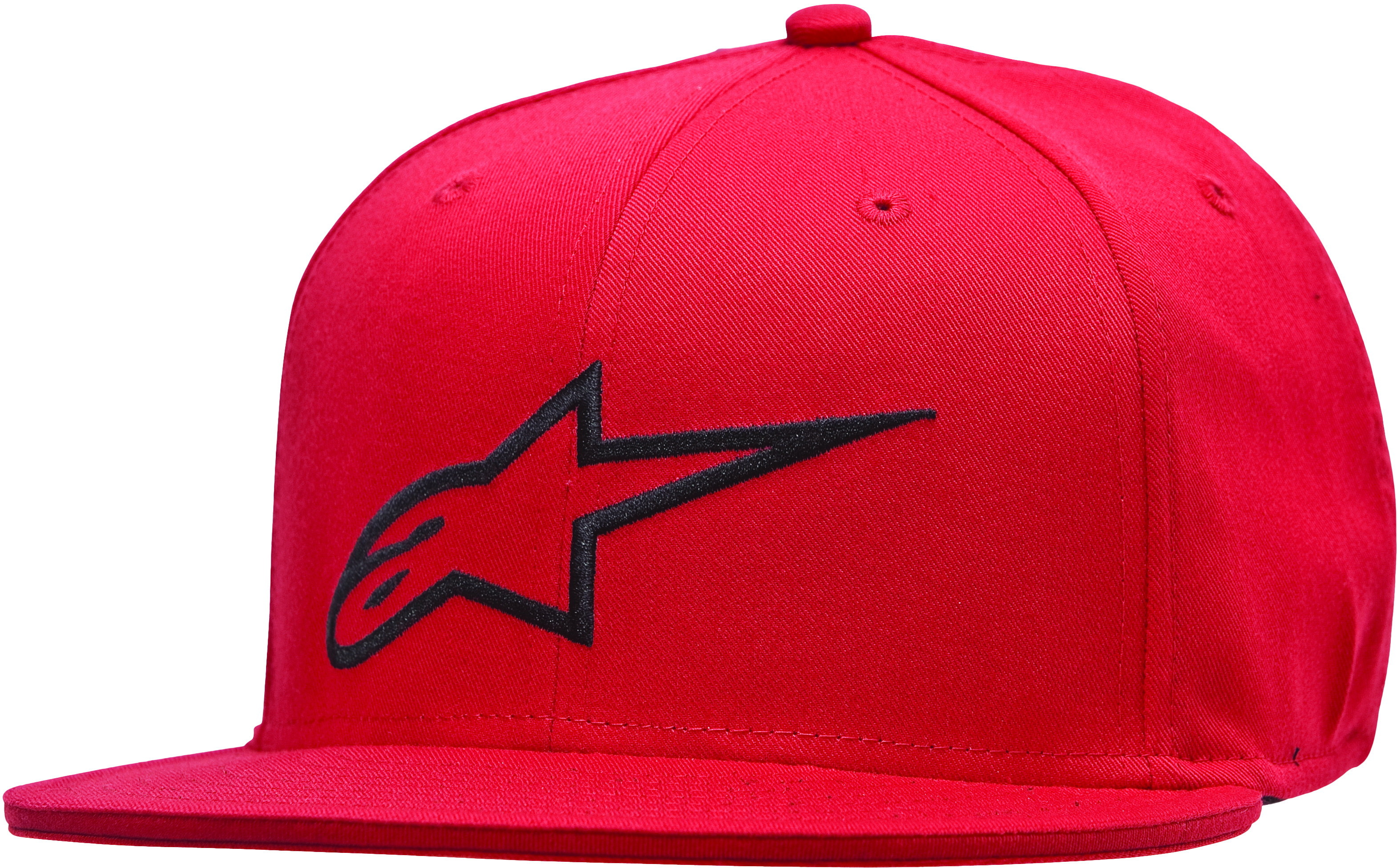 Ageless Flat Bill Hat Red/Black L/X