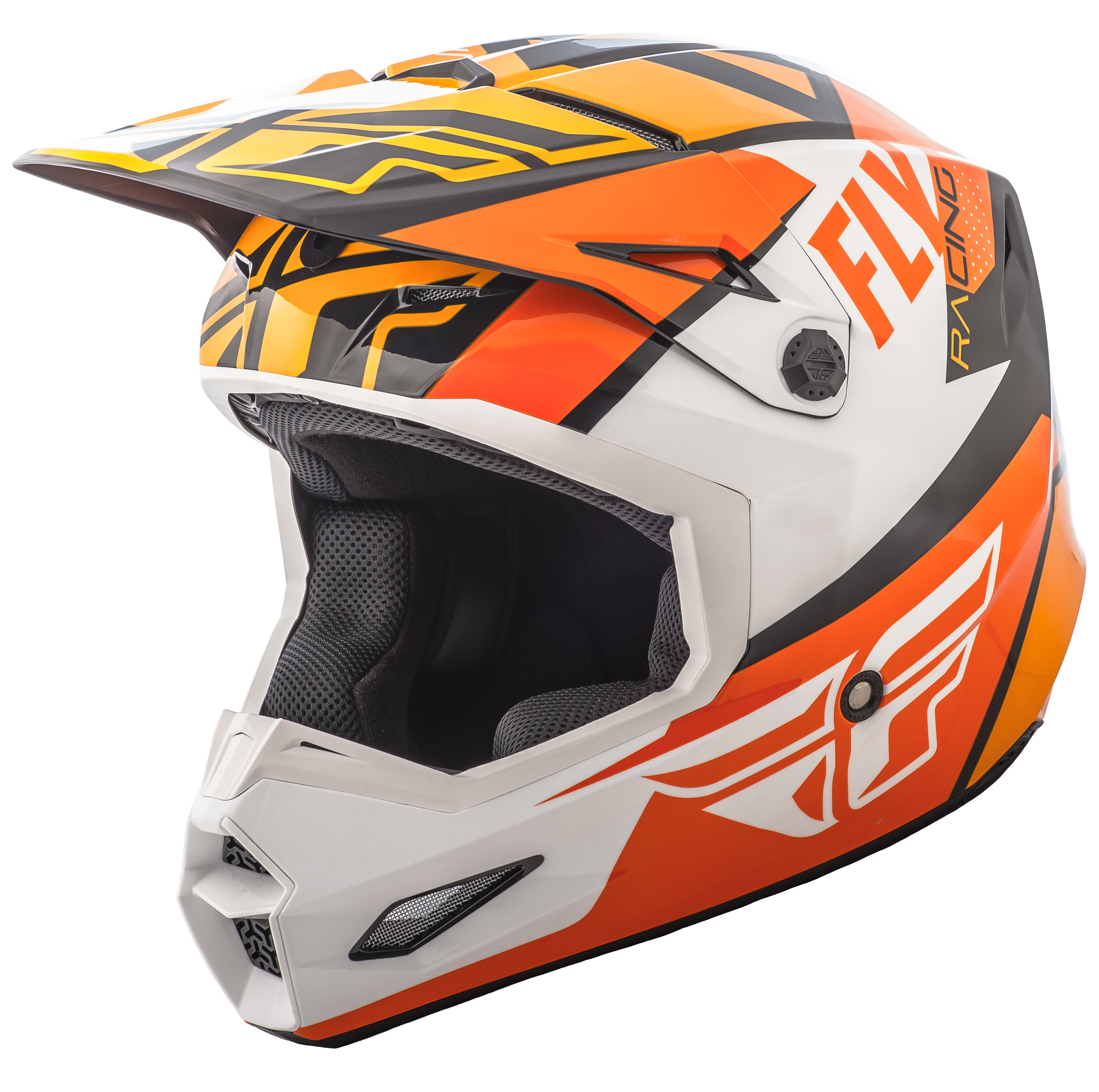 Elite Guild Helmet Orange/White/Black Xs