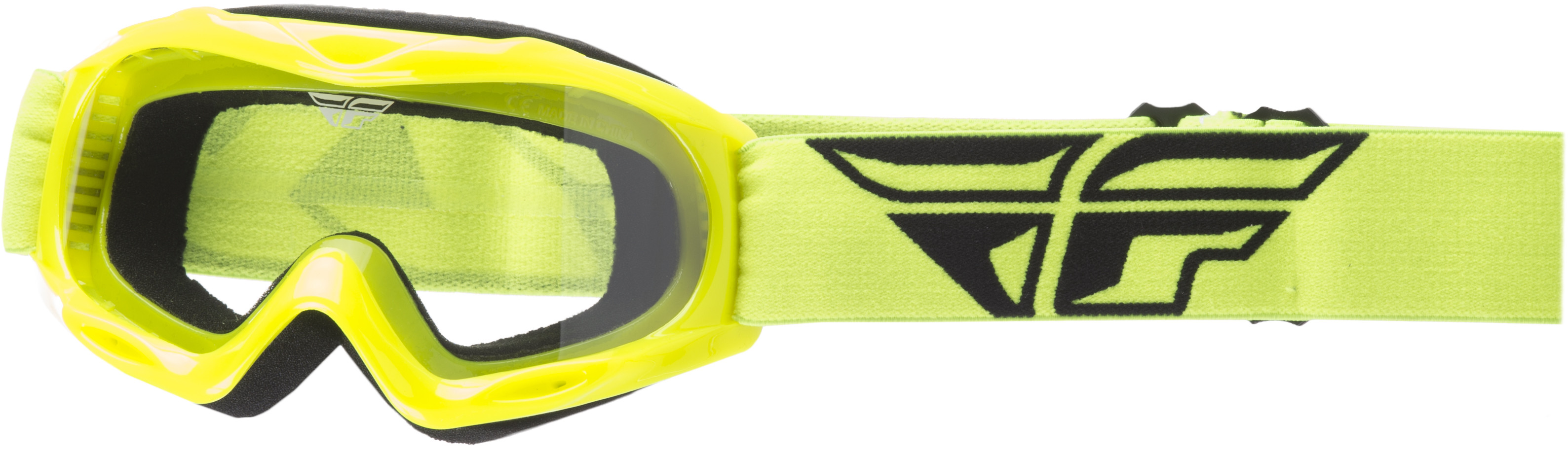 Focus Youth Goggle Hi-Vis W/ Clear Lens