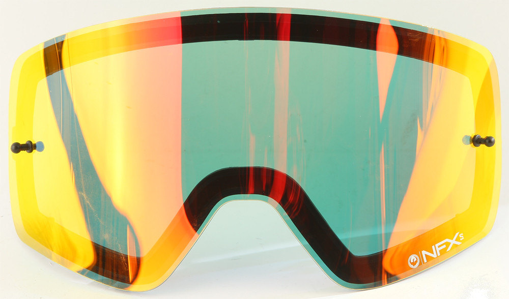 Nfxs Goggle Lens Red Ion Aft