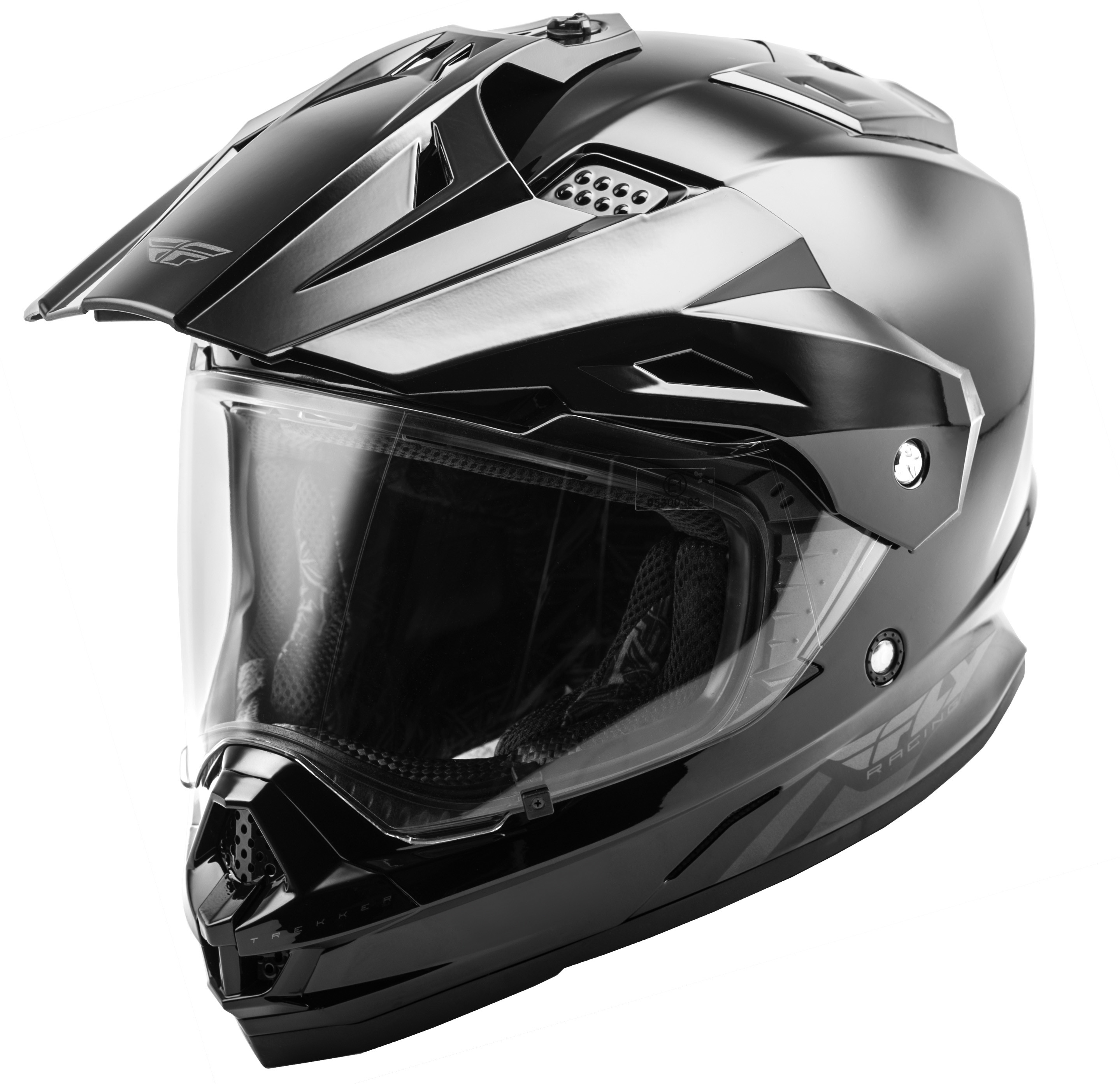 Trekker Solid Helmet Black Md