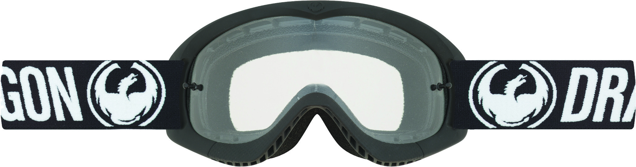 Youth Mx Goggle Coal W/Clear Lens