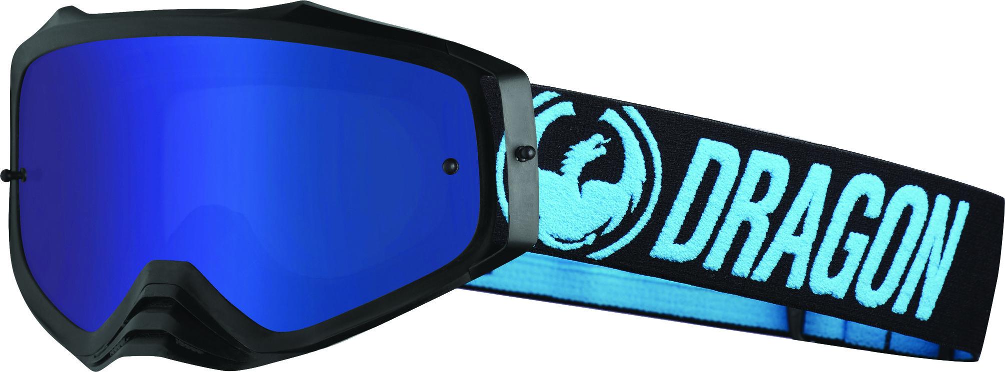 Mxv Plus Goggle Blue W/Luma Blue Ion Lens