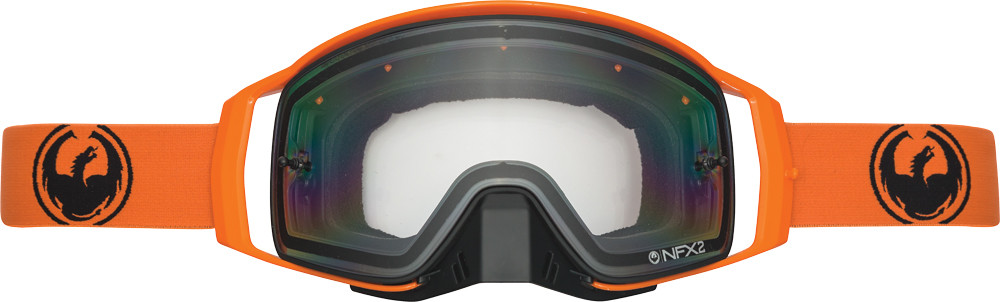 Nfx2 Orange (Injected Clear Lens)