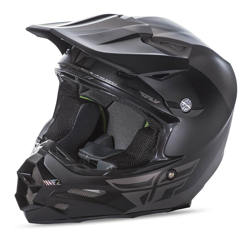 F2 Carbon Pure Helmet Matte Grey/Black Xs