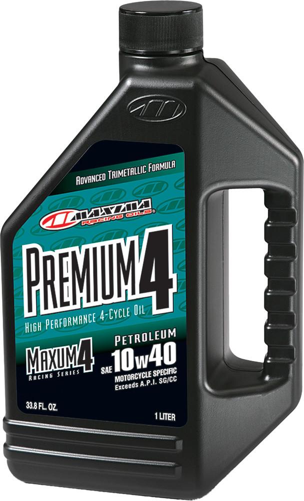 Maxum 4 Premium 10W-40 Liter