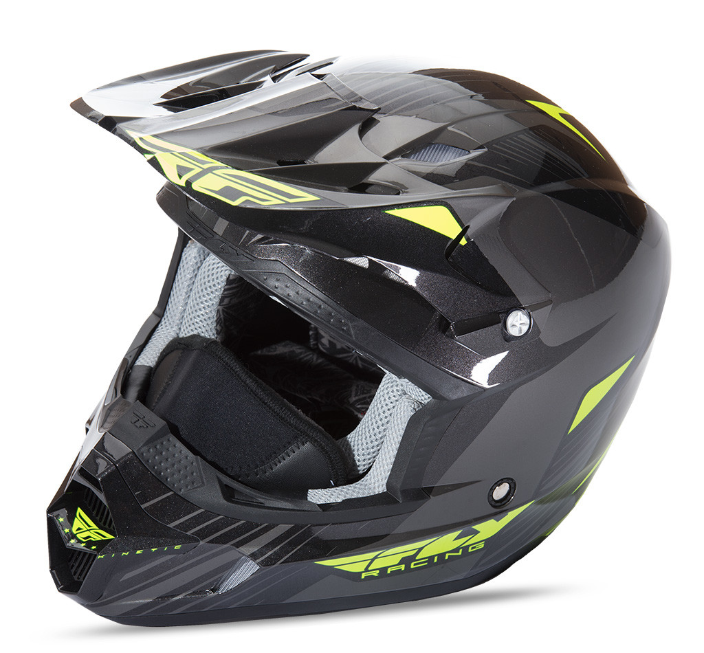 Kinetic Pro Cold Weather Helmet Hi-Vis/Black S
