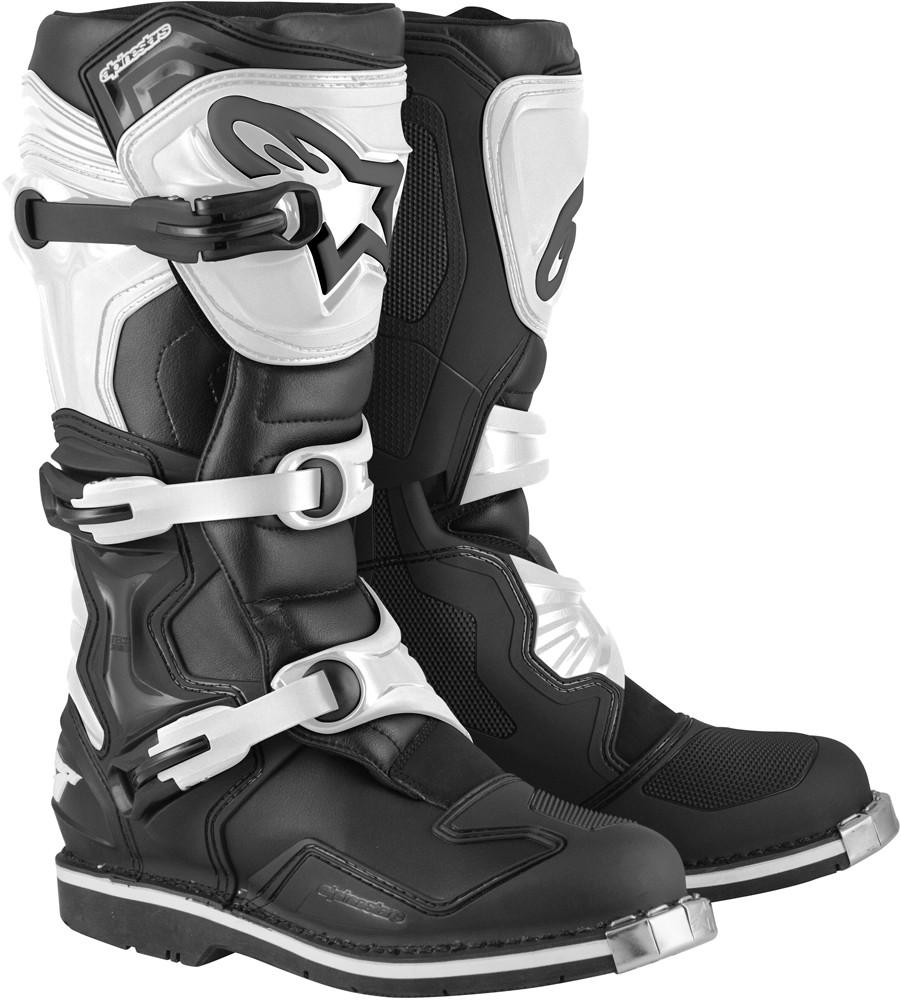 Tech 1 Boots Black/White Sz 14