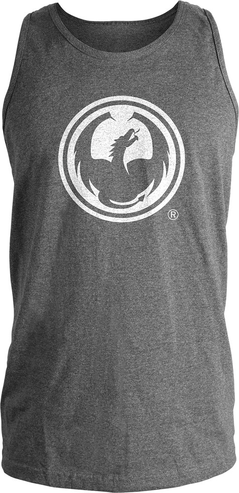 Icon Tank Charcoal Heather S