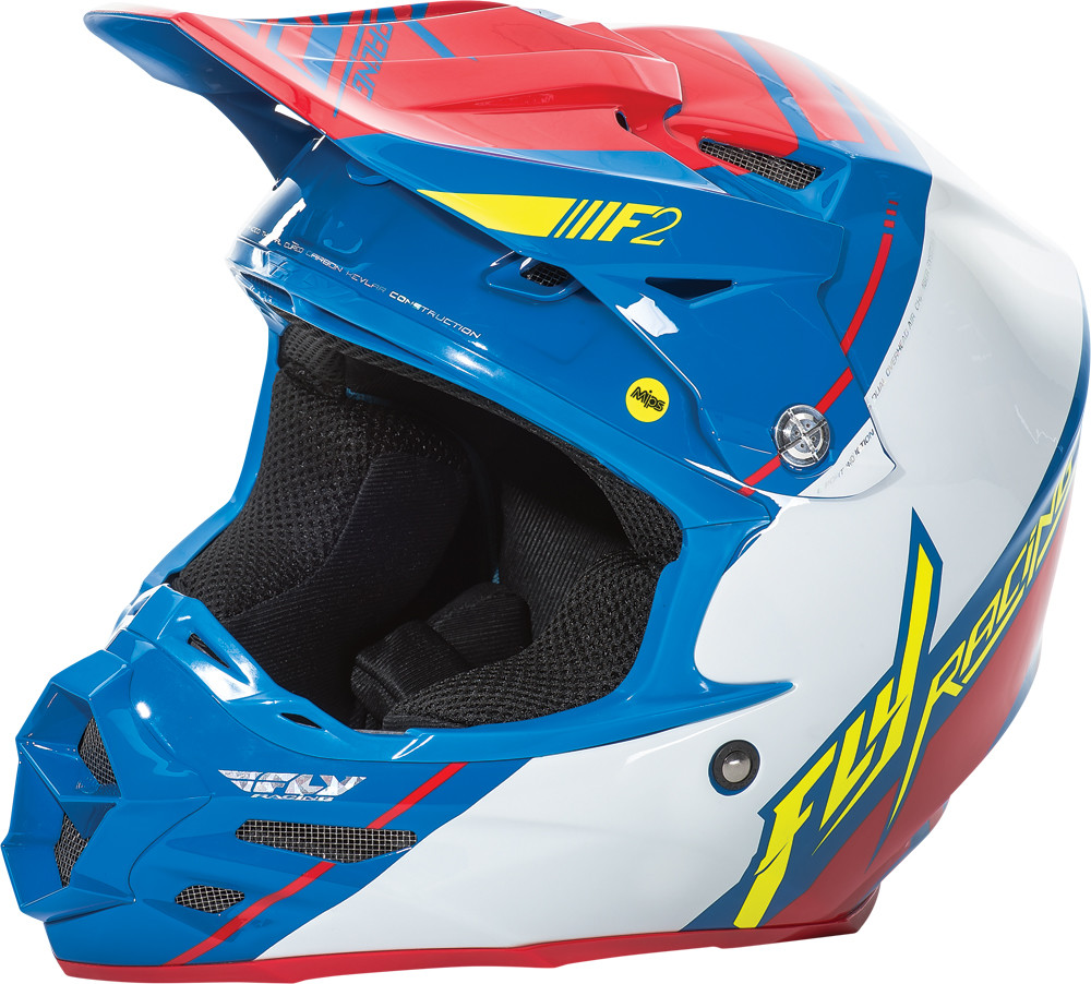 F2 Carbon Mips Helmet Canard Replica 2X
