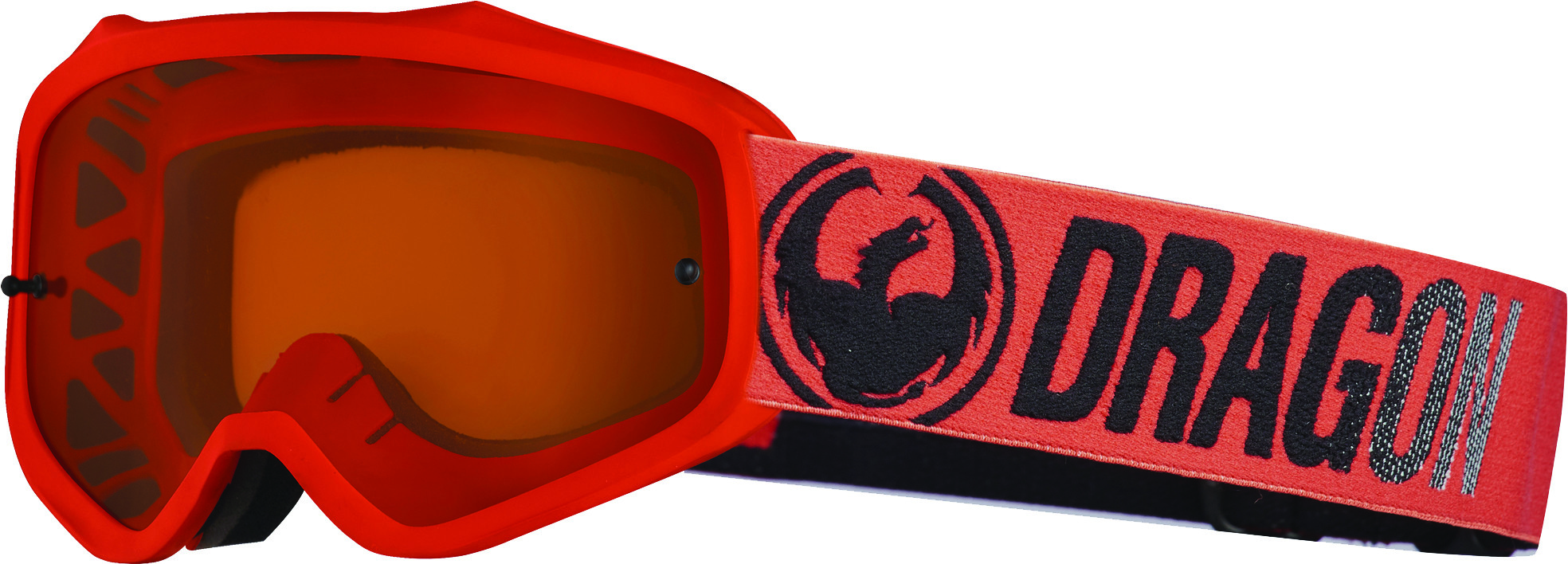 Mxv Break Goggle Red W/Luma Amber Lens