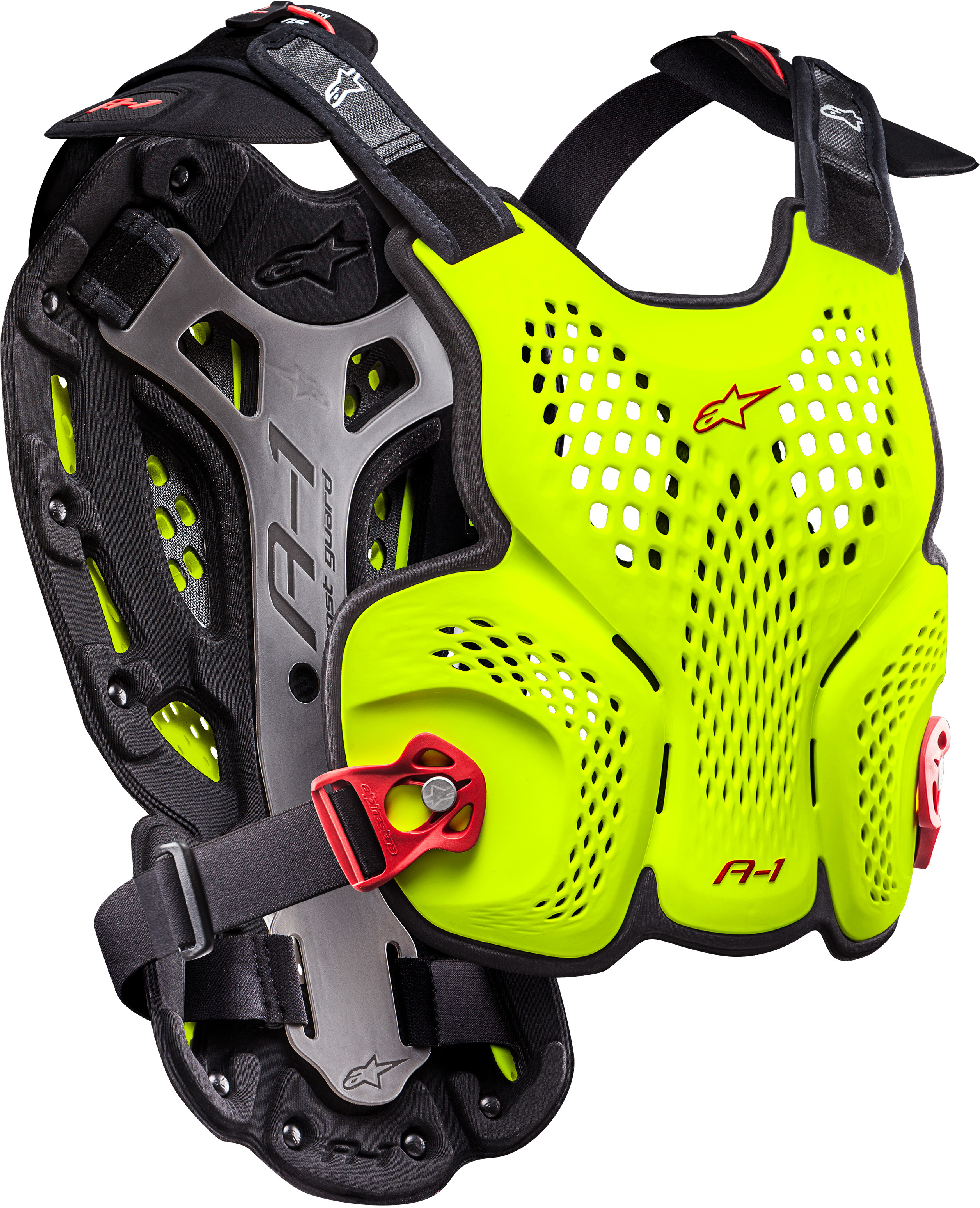 A-1 Blackjack Roost Guard Yellow/Fluorescent Red M/L