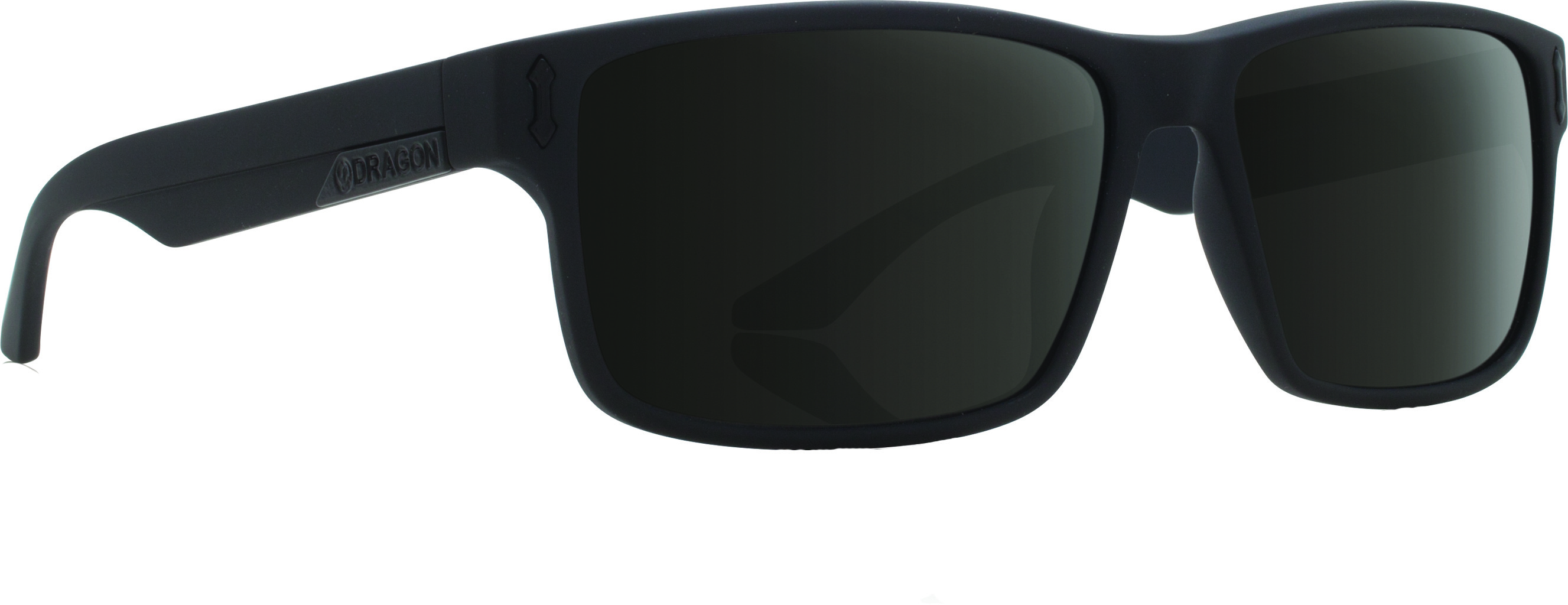 Count Sunglasses Matte Black W/Grey Lens