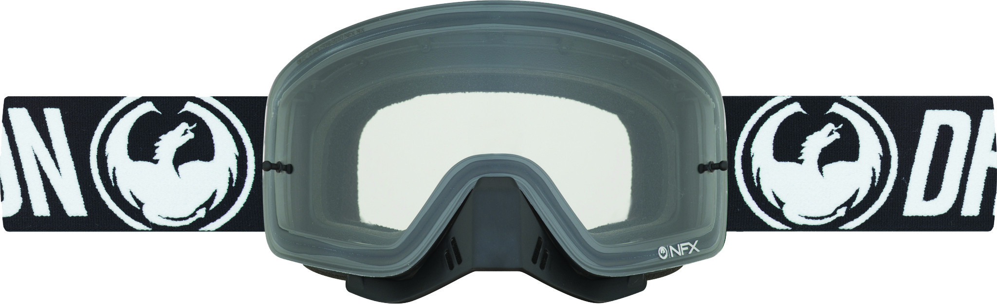 Nfx Goggle Coal W/Clear Lens