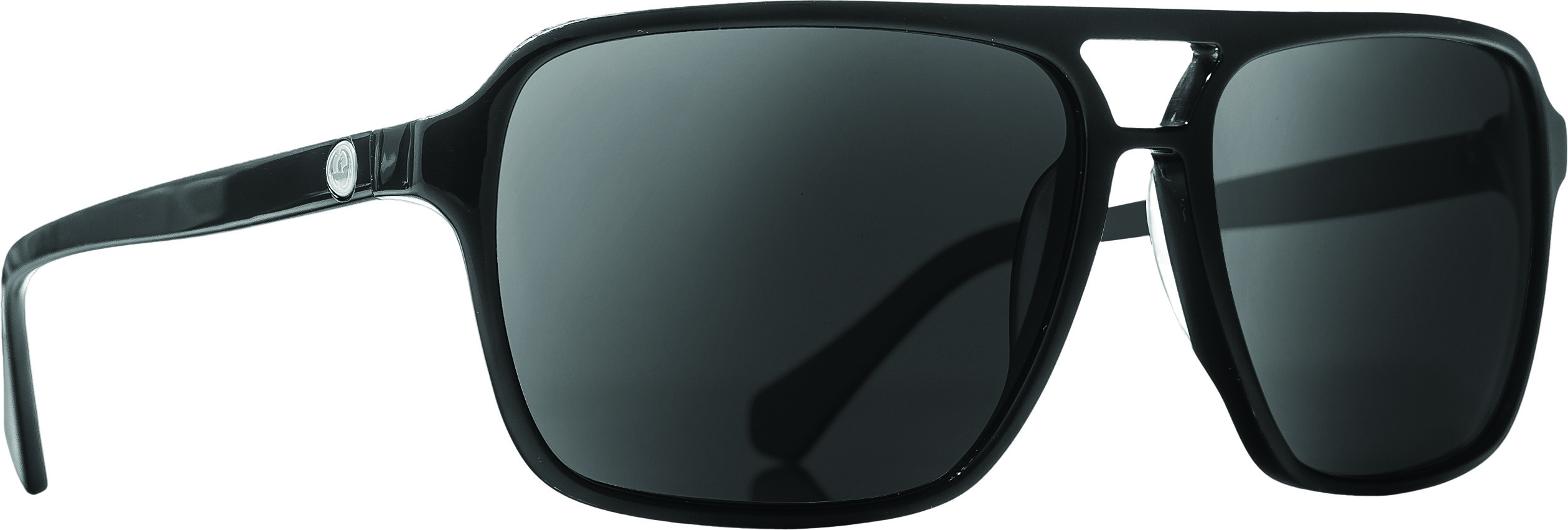 Passport Sunglasses Jet Black W/Grey Lens
