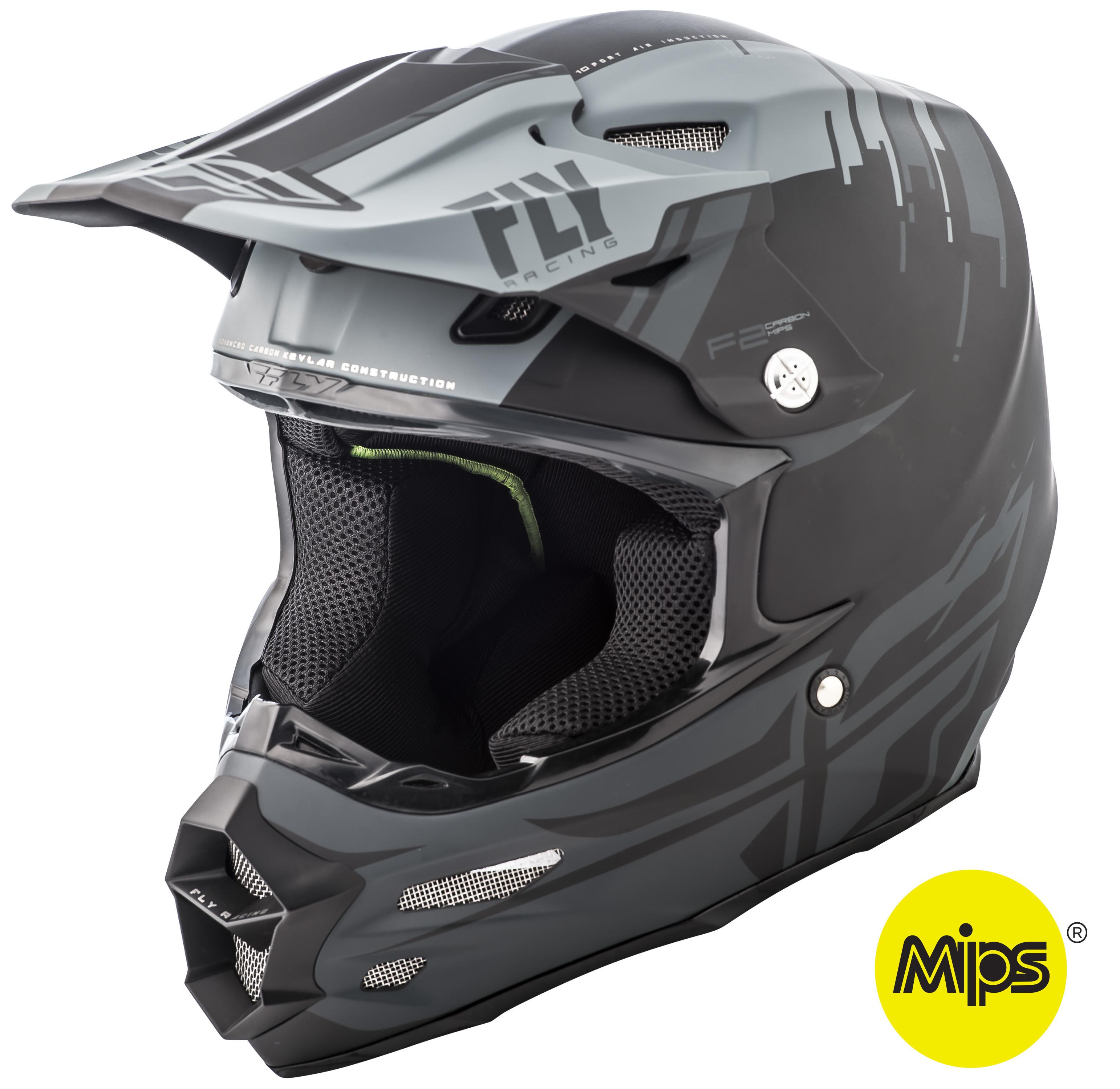 F2 Carbon Forge Helmet Matte Grey/Black 2X