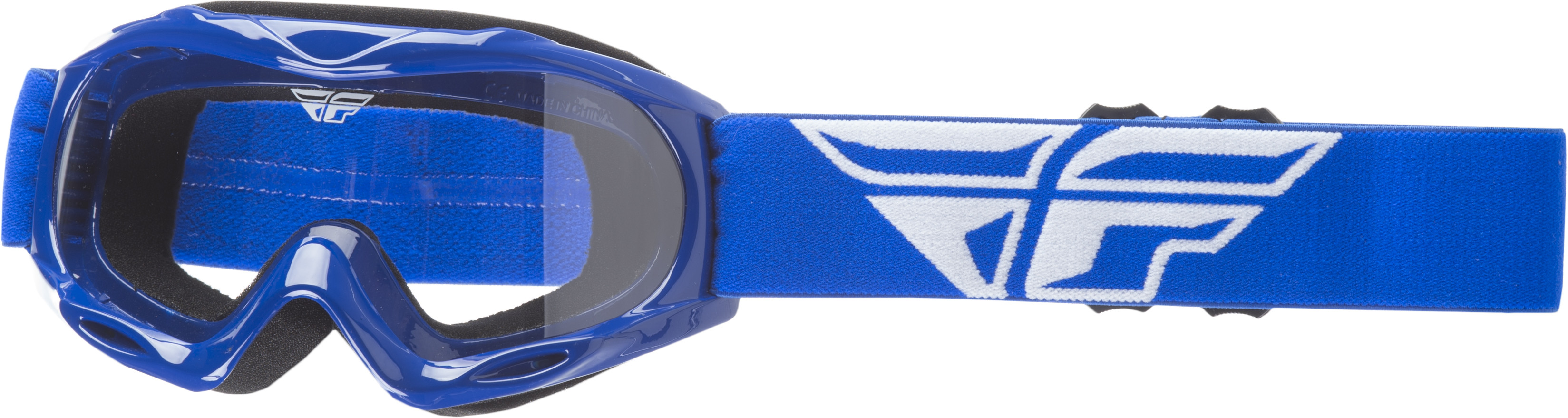 Focus Youth Goggle Blue W/ Clear Lens
