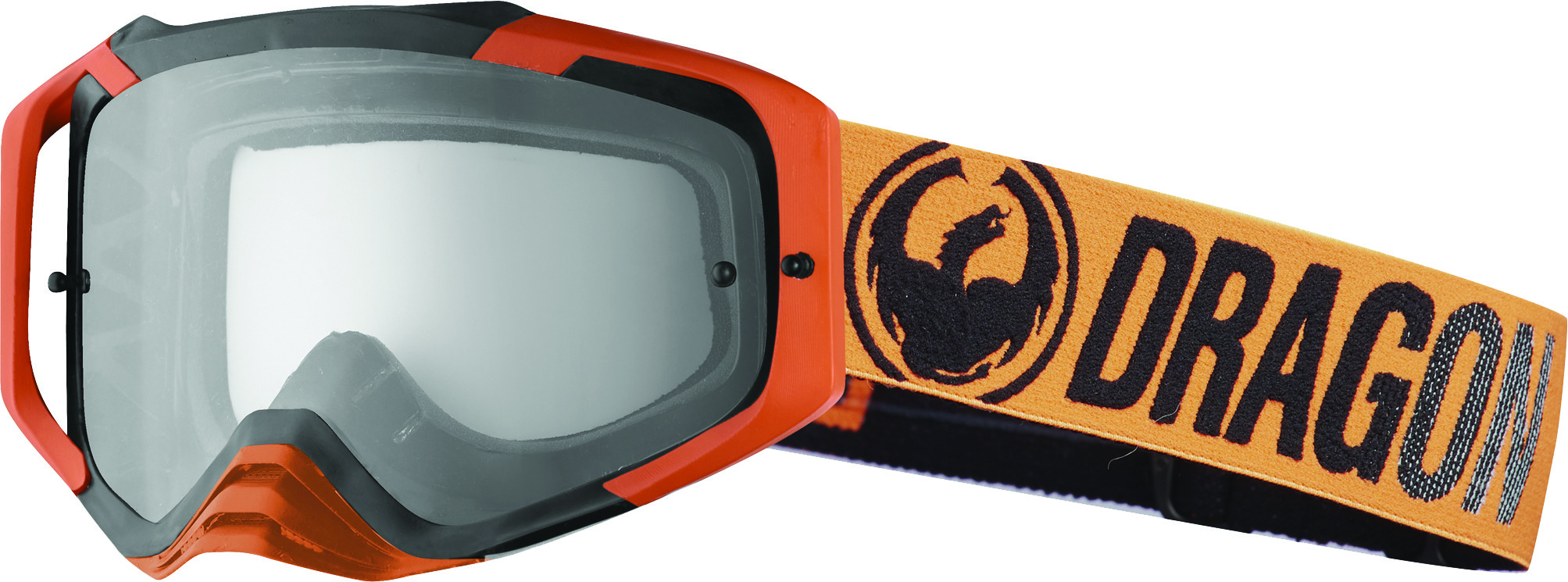 Mxv Max Goggle Orange W/Clear Lens