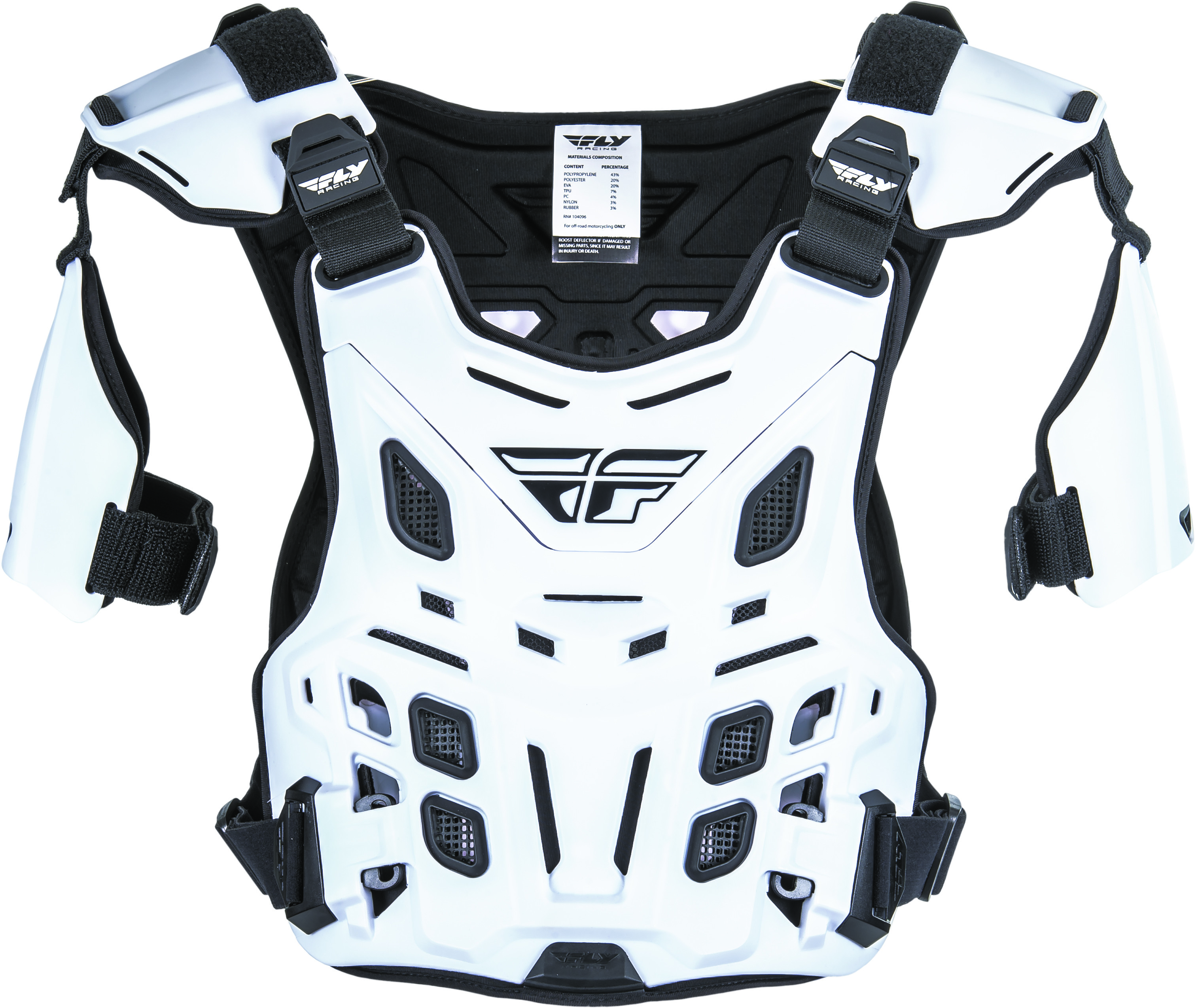 Revel Offroad Roost Guard (White)